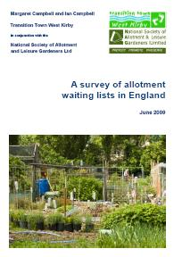 A survey of allotment waiting lists in England
